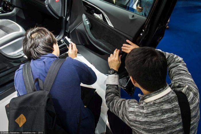 Китайские «разведчики» на Франкфуртском автошоу